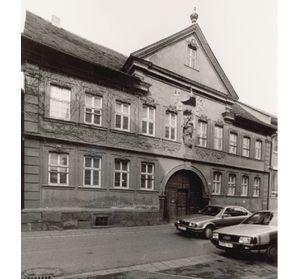 Bild: Franck-Haus vor Sanierung